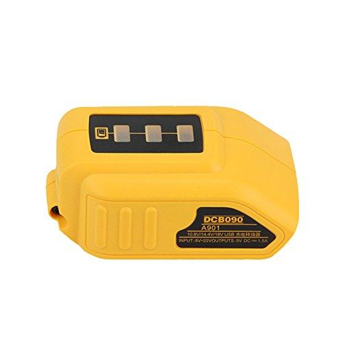 Topbatt Replacement USB Power Source for Dewalt DCB090 12V/20V MAX Lithium Ion battery by Topbatt