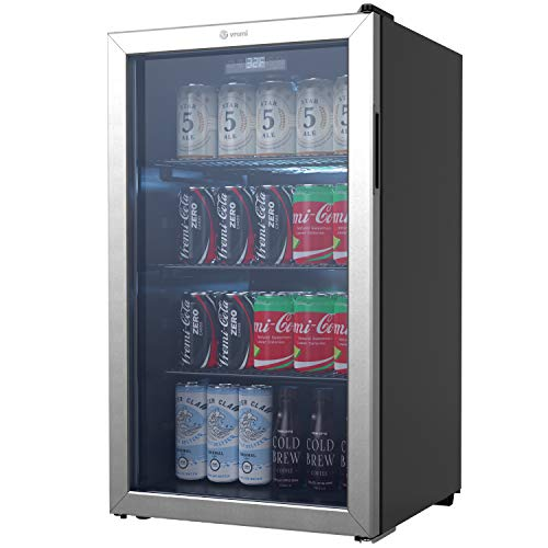 VRemi Beverage Refrigerator and