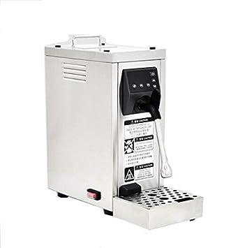 cgoldenwall ms-130t comercial automático eléctrico espumador de leche acero inoxidable Calentador de café Chocolate leche de vapor - Máquina de burbujas ...