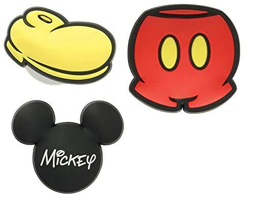 Crocs Mickey Mouse 3 Pack Jibbitz Shoe