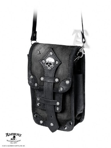 (Alchemy Empire LG60 - Empire 'Aviator' Pouch -Leather Bags)