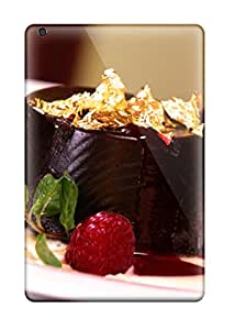 3508390J55416938 New Tpu Hard Case Premium Ipad Mini 2 Skin Case Cover(chocolate With Gold Leaf)