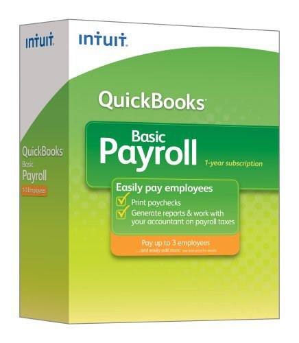 Intuit Quickbooks Basic Payroll Employees product image