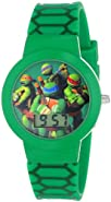 Nickelodeon Teenage Mutant Ninja Turtles Kids' TMN4027 Green Digital Watch