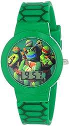 Nickelodeon Teenage  Mutant Ninja Turtles Kids' TMN4027 Green Digital Watch
