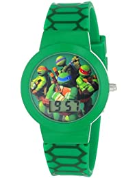 Nickelodeon teenage mutant ninja turtles 'tmn4027 verde reloj Digital