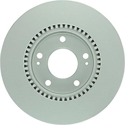 For Hyundai Azera Kia Amanti Front OE Disc Brake Rotors And Ceramic Brake Pads