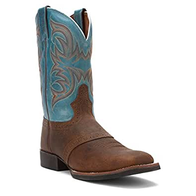 Amazon Com Justin Men S Stampede Cattleman Boot Square