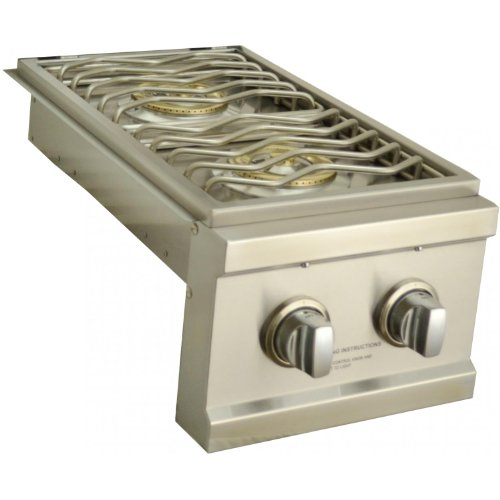 (Sole Natural Gas Built-in Double Side Burner with LED Light)