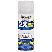 Deals on Rust-Oleum Ultra Cover 2X Gloss Clear Spray Paint and Primer