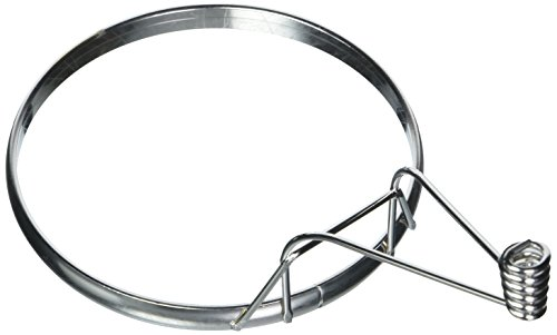 (American Metalcraft ER444 Chrome-Plated Coil-Handle Egg Ring, 4