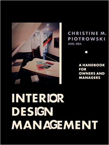 Interior Design Management A Handbook For Owners And Managers Custom Interior Design Management