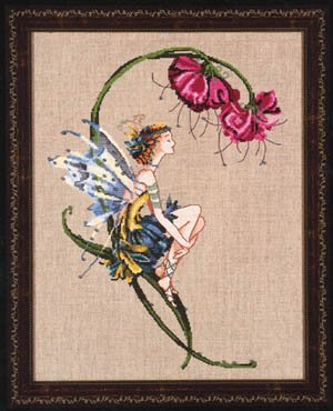 Mirabilia The Bliss Fairy Counted Cross Stitch (Fairy Pattern)