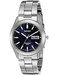 Seiko Mens SGG709 Titanium Watch