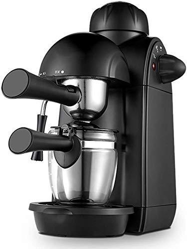 COOLSHOPY Máquina de café Expresso con Leche de la Bomba espumejea Brazo 5 Bar de presión, 730W Cafetera 240ml…