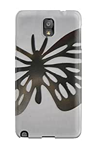 For Galaxy Note 3 Protector Case Metal Art Phone Cover