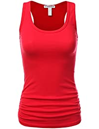 Women's Casual Essential Solid Racerback Tank Top