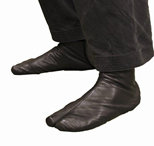 Handmade Leather Tabi Soft Ninja