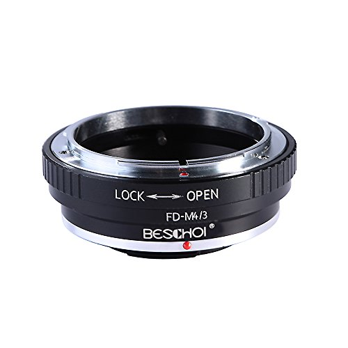 dapter ring for Canon FD Lens to Micro 4/3 Olympus PEN and Panasonic Lumix Cameras ()