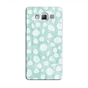 Cover It Up - Pebble Print Blue Galaxy A7 Hard Case