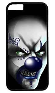 Funny Clown Scary Thanksgiving Halloween Masterpiece Limited Design PC Black Case for iphone 6 by Cases & Mousepads