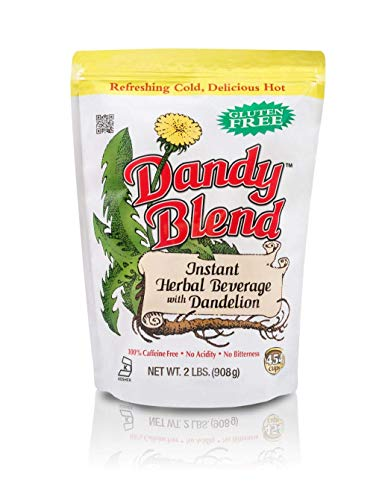 - Dandy Blend, Instant Herbal Beverage with Dandelion, 2 lb. Bag