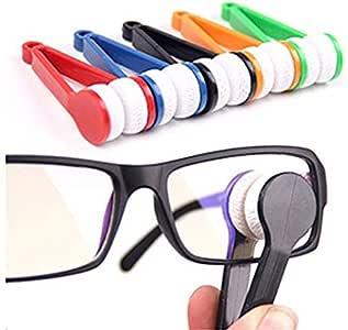 Onwon 5 Pcs Mini Sun Glasses Eyeglass Microfiber Spectacles Cleaner Soft Brush Cleaning Tool.