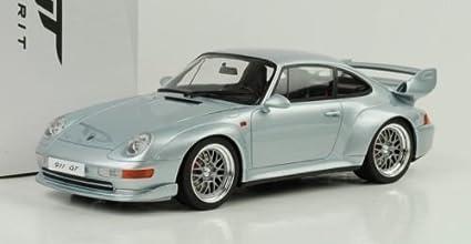 Porsche 911 (993) GT Silver 1/18 Model Car by GT Spirit ZM098