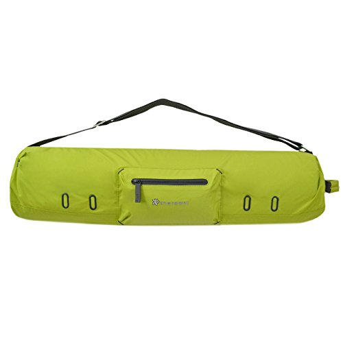 Sherpani Spree Yoga Mat Holder, Chartreuse, One Size
