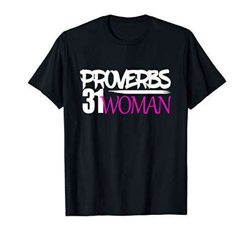 Hebrew Israelite Clothing Women Proverbs 31 Woman T-Shirt