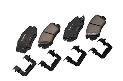 ACDelco 17D1421CH Professional Ceramic Front Disc Brake Pad Set