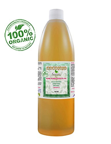 Pomegranate Oil Organic 100% Pure Seed Oil Cold Pressed 1...