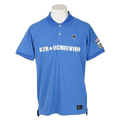 半袖ポロシャツ メンズ アルチビオ archivio 2018 春夏ゴルフウェア M(46) ブルー(065) a769306