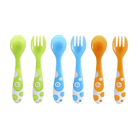 Munchkin Fork and Spoon Set (6 Piece)