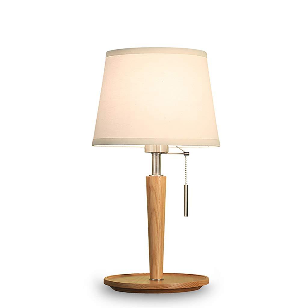 ペンダントライト レトロ北欧暖かい光の布木製テーブルランプのベッドサイドテーブルランプレストランのベッドルームの装飾照明器具 (色 : B) B07S1L1VPP B