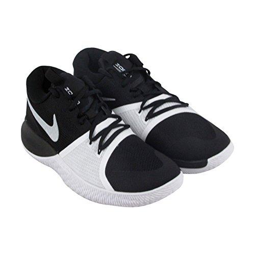 brand new 9b58e 5b4ef Nike Menns Zoom Assersion Basketball Sko Sort   Hvitt