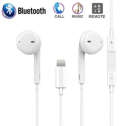 XBRN Compatible Earphones for IP X/ 7/Plus/ 8/Plus, Applicable Earphones Built in Microphone Earphones Stereo Headphones Noise Isolating Headset