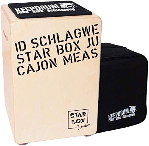 Schlagwerk CP400 SB Starbox - Caja de percusión para niños, incluye funda keepdrum y almohadilla para asiento: Amazon.es: Instrumentos musicales