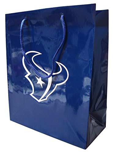 Pro Specialties Group NFL Houston Texans Gift Bag, Navy/White, One - Bag Specialties Pro