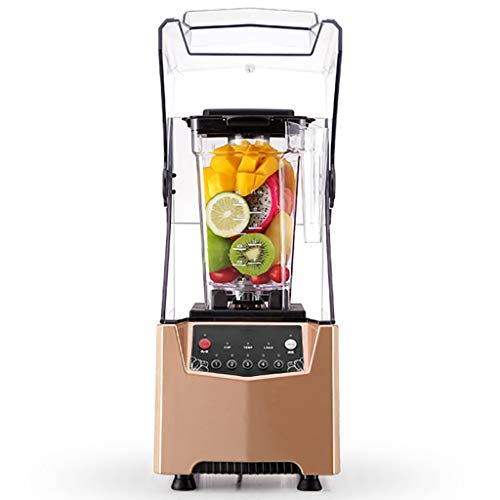 Commercial Electric Ice Crusher, Blender/Juice, With Soundproofing - High Speed Vacuum Food Processor