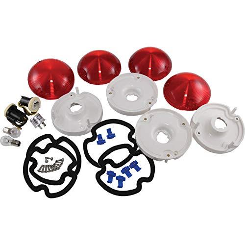 Eckler's Premier Quality Products 25-122687 - Corvette Bubble Taillight Conversion Kit