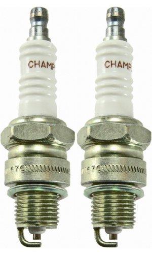 Champion l87y-2pk Copper Plus Small Engine Spark Plug # 312 (2 unidades): Amazon.es: Jardín