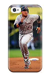 Nafeesa J. Hopkins's Shop Tpu Case Skin Protector For Iphone 4/4s Miguel Cabrera Pictures With Nice Appearance
