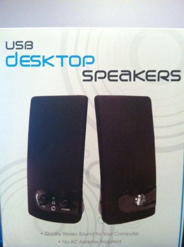 USB Desktop Speakers by Sakar