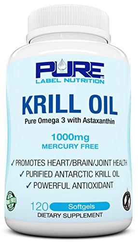 Krill 1000mg Astaxanthin Caps Omega