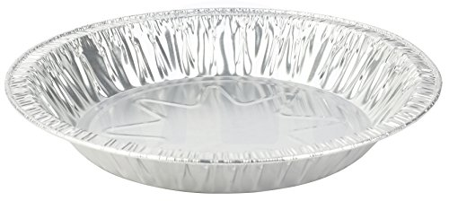 MT Products 8 Inch Outer Rim Disposable Aluminum Foil Tart/Pie Pan 1.25 Deep - Inside Measures 7 inches x 1.25 inches -(Thicker 45 Gauge) (35 Pieces)