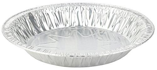MT Products 8 Inch Outer Rim Disposable Aluminum Foil Tart/Pie Pan 1.25