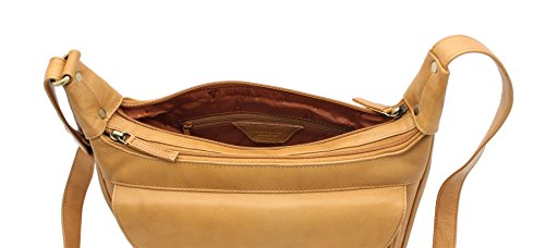 Sand Brown Leather Visconti Handbag Visconti Style 03189 Leather HxYRwFqR0