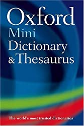 Oxford Mini Dictionary & Thesaurus (Oxford Minireference)