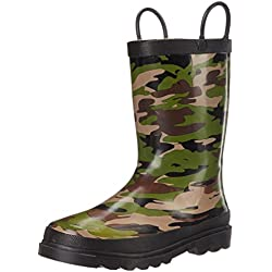 Western Chief Kids Camo Rain Boot (Toddler/Little Kid/Big Kid),Camoflage,3 M US Little Kid